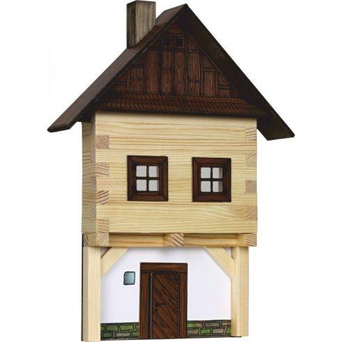 Építőjáték - Építős játékok - Városház makett falra