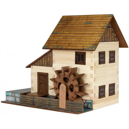 Építőjáték - Építős játékok - Építkezős játékok Vizimalom makett