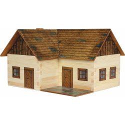 Építőjáték - Építős játékok - Ház építős játékok Elhagyatott ház makett