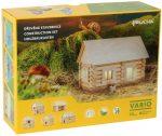 Fa építő játékok - Faház építő játék Vario 72