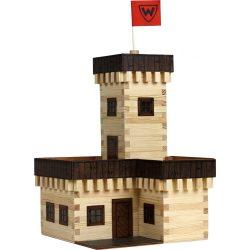 Kreatív játékok - Nyári kastély fa épületmakett építő készlet