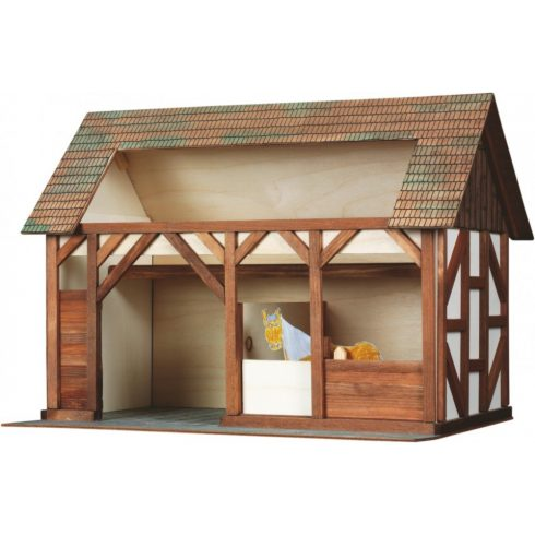 Építőjáték - Építős játékok - Építkezős játékok Istálló makett