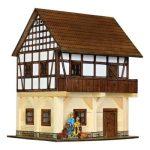 Építőjáték - Építős játékok - Építős játékok Magtár faház makett