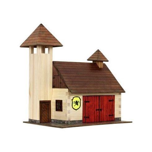 Barkács készletek gyerekeknek - Építs saját tűzoltó állomást fából