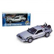 Játék autók - Welly DeLorean Vissza a jövőbe II. kisautó 1:24