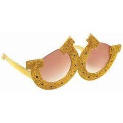 Szilveszteri buli - Party szemüveg - Patkó alakú szemüveg