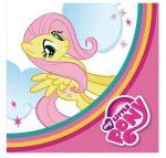 Party kellékek - My Little Pony Rainbow szalvéta