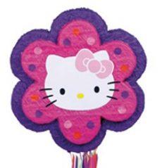 Pinatak - Party kellék - Hello kitty - Virág alakú pinata