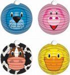 Party kellékek és dekorációk - Állatok gömb lampion