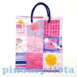 Ajándék tasakok - Díszzacskók - Ünnepi csomagolások ajándékokhoz- Ajándéktasak kicsi virágos
