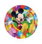 Party kellékek - Evés-ivás - Mickey egér tányér