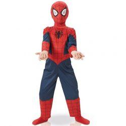 Jelmezek - Jelmez kiegészítők - Pókember jelmez S méret 4-5 éves gyerekeknek