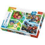 Gyerek Puzzle - Kirakósok - Nickelodeon mesék 100 db-os puzzle - Trefl