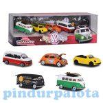 Játék autók - Autós játékok - Majorette: Volkswagen 5db-os ajándékcsomag - Simba Toys