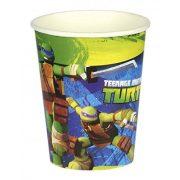Party kellékek - Terítés - Tini nindzsa teknőcök parti papír pohár