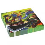 Party kellékek - Terítés - Tini nindzsa teknőcök szalvéta