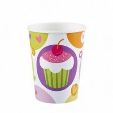 Party kellékek - Evés-ivás - Muffin mintás pohár