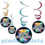 Party kellékek - Party dekorációk - Boldog Szülinapot függő