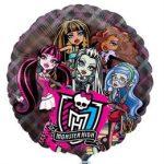 Party kellékek - Fólia lufik - Monster high lufi átlátszó