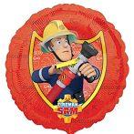 Party kellékek - Sam, a tűzoltó héliumos lufi