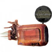 Party kellékek - Star Wars Ébredő Erő, Rey siklója lufi