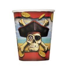 Party kellékek - Evés-ivás - Kalózos pohár