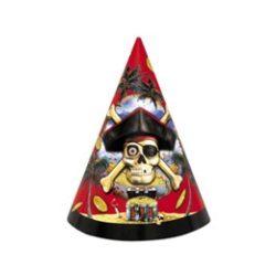 Party kellékek - Kalózos parti kalap