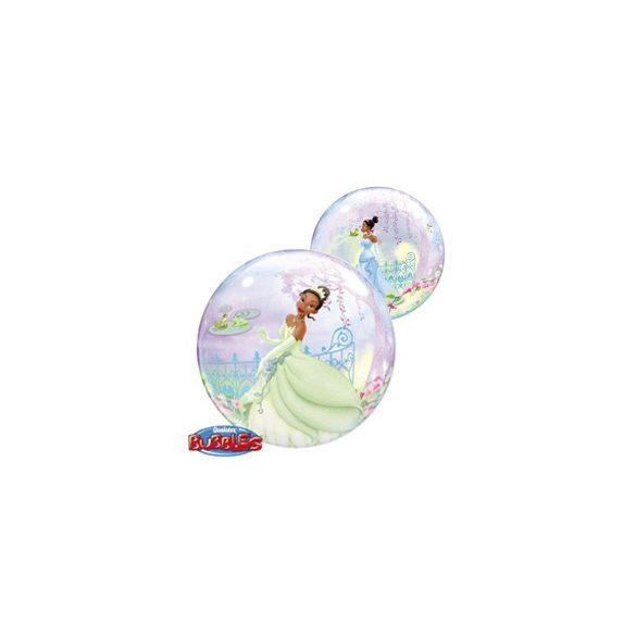 Party kellékek - Hercegnő és a béka héliumos lufi