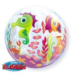 Party kellékek - Bubbles lufik - Tengeri állatos lufi