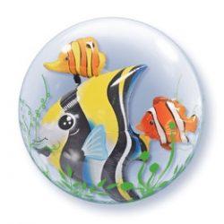 Party kellékek - Bubbles lufik - Trópusi halak bubbles