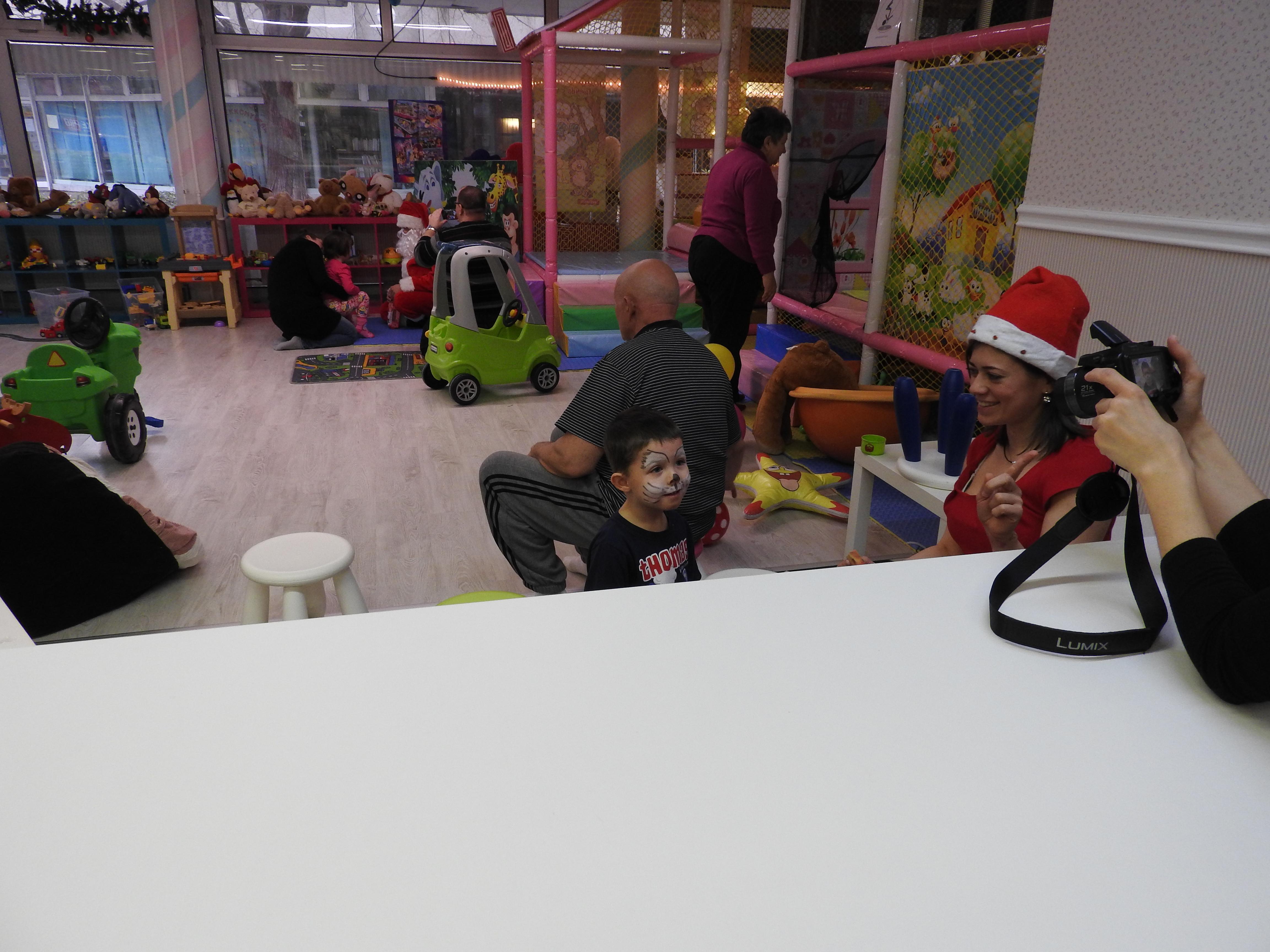Mikulás napi rendezvény a Pindurpalota játszóházba