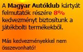 Magyar Autóklub kártya elfogadó hely