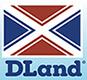 DLand logo