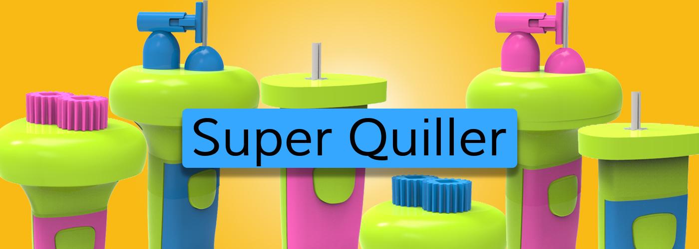 Super quiller Quilling technikához gép