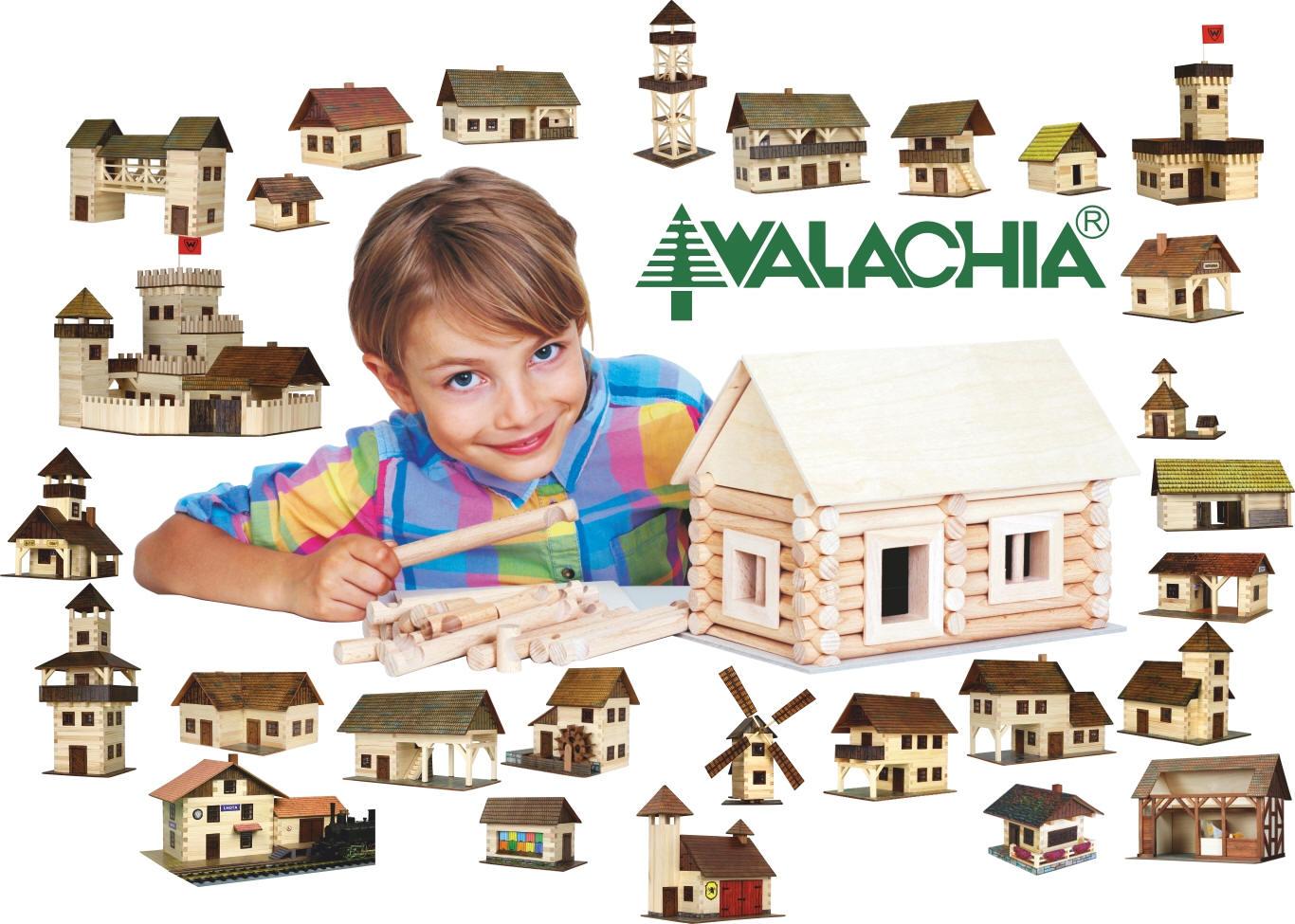 Fa barkács és építő játékok Walachia Pindur Palota