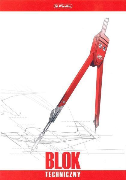 Herlitz Műszaki rajzbl.A4/10 170g