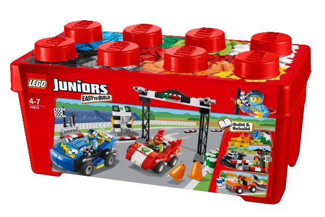 10673 LEGO Juniors versenyautó