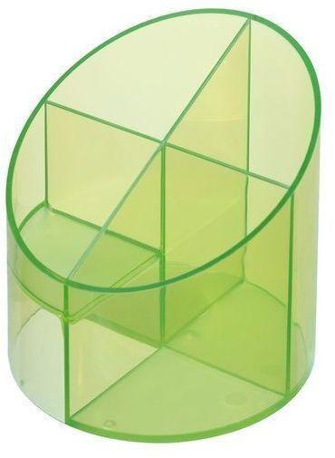 Herlitz Írószertartó Classic átlátszó zöld