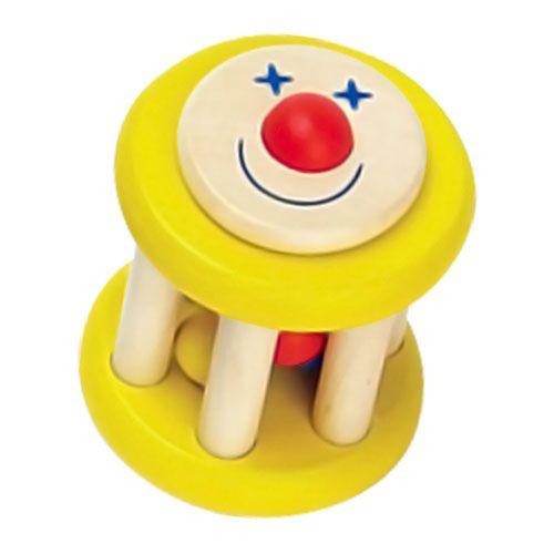 Bébicsörgő (Mókuskerék, sárga)