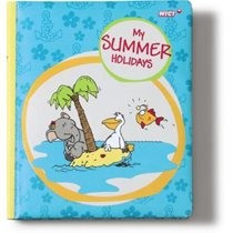 Happy Box Nici jegyzetfüzet elefánt pelikán lámpáshal Summer paper 18x15cm kék